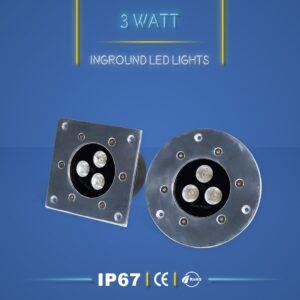 چراغ دفنی 3 وات نورنگار ، برای نورپردازی نما ، ستون ، درختچه ، راهرو و راه پله و روشنایی محوطه ها مناسب است. چراغ دفنی 3 وات در چهار مدل تک رنگ ، مولتی کالر ، RGB و DMX تولید می شود. شرکت نورنگار ، چراغ دفنی 3 وات را به صورت سفارشی ، با توجه به نوع پروژه نورپردازی و با پخش نور اختصاصی تولید میکند.چراغ دفنی 3 وات نورنگار دارای استاندارد ضد آب IP67 ( و به سفارش مشتری IP68 ) است و دارای 18 ماه گارانتی است .