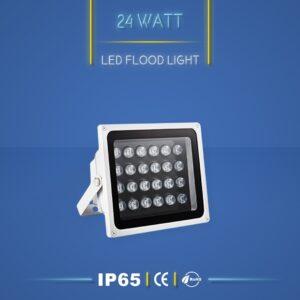 پروژکتور ال ای دی 24 وات نورنگار ، برای نورپردازی نما و روشنایی محوطه ها مناسب است. پروژکتور ال ای دی 24 وات در چهار مدل تک رنگ ، مولتی کالر ، RGB و DMX تولید می شود. شرکت نورنگار ، پروژکتور ال ای دی 24 وات را به صورت سفارشی ، با توجه به نوع پروژه نورپردازی و با پخش نور اختصاصی تولید میکند. پروژکتور ال ای دی 24 وات نورنگار دارای استاندارد ضد آب IP65 است و 18 ماه گارانتی دارد.