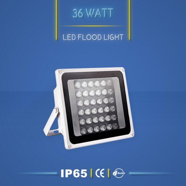 پروژکتور ال ای دی 36 وات نورنگار ، برای نورپردازی نما و روشنایی محوطه ها مناسب است. پروژکتور ال ای دی 36 وات در چهار مدل تک رنگ ، مولتی کالر ، RGB و DMX تولید می شود. شرکت نورنگار ، پروژکتور ال ای دی 36 وات را به صورت سفارشی ، با توجه به نوع پروژه نورپردازی و با پخش نور اختصاصی تولید میکند. پروژکتور ال ای دی 36 وات نورنگار دارای استاندارد ضد آب IP65 است و 18 ماه گارانتی دارد.