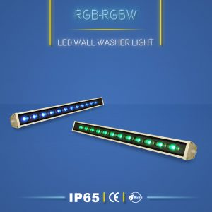 وال واشر RGB یا پروژکتور خطی RGB ابزاری مناسب برای نورپردازی نما ، دیوار و ستون ها است. اگر خلاقیت و جذاب بودن نورپردازی نما برایتان مهم است وال واشر RGB و والواشر RGBW را به شما توصیه می کنیم.