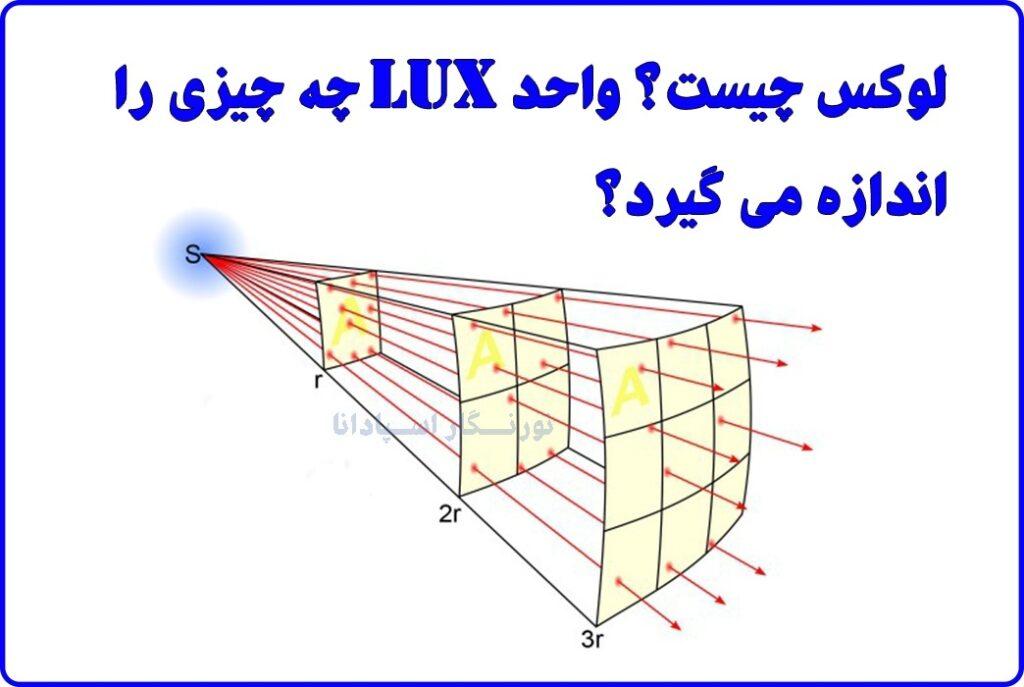 لوکس چیست؟ واحد Lux چه چیزی را اندازه گیری می کند؟