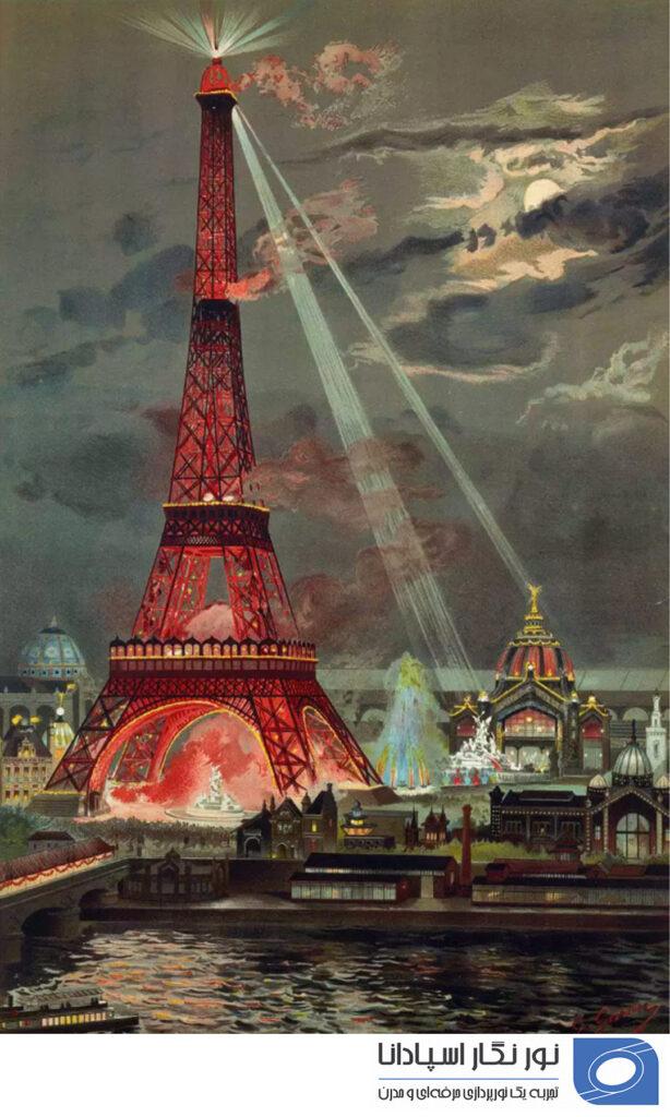 روشنایی برج ایفل