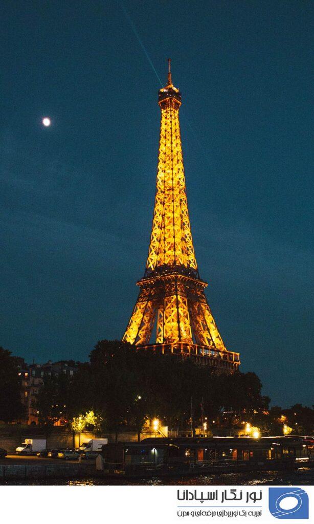 روشنایی برج ایفل Eiffel tower